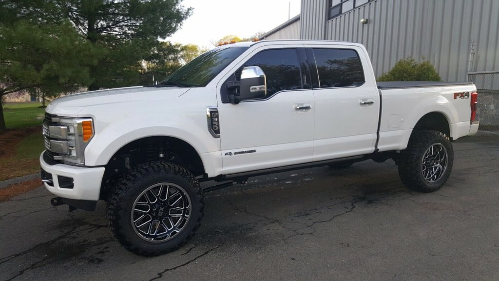 every option available 2017 Ford F 350 Platinum monster
