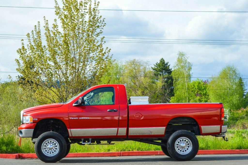 fully loaded 2004 Dodge Ram 2500 monster