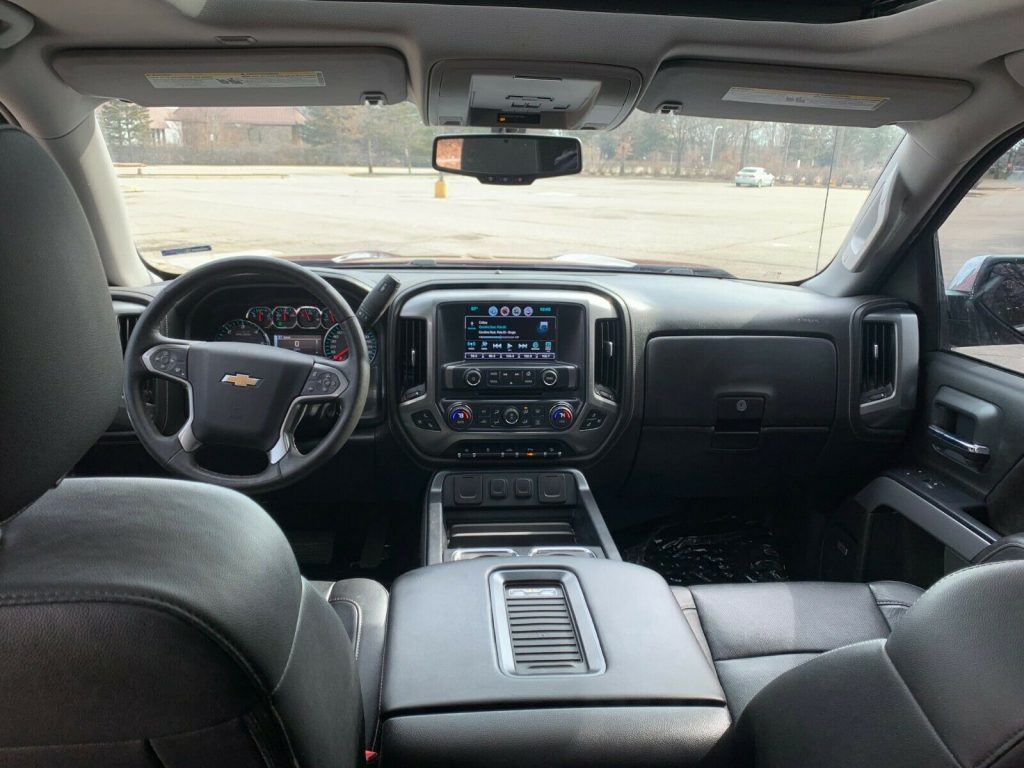 loaded with goodies 2016 Chevrolet Silverado 1500 LTZ monster