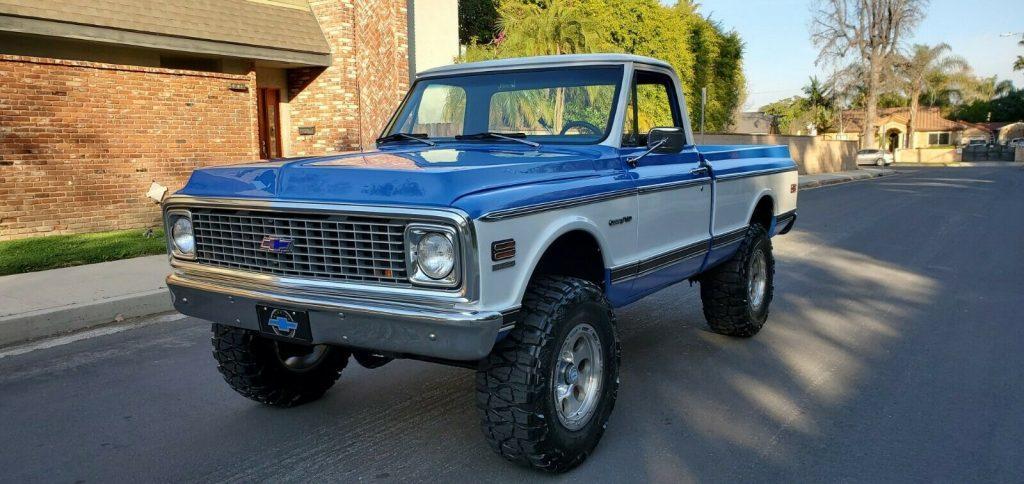 modified 1972 Chevrolet C/K Pickup 1500 K10 monster
