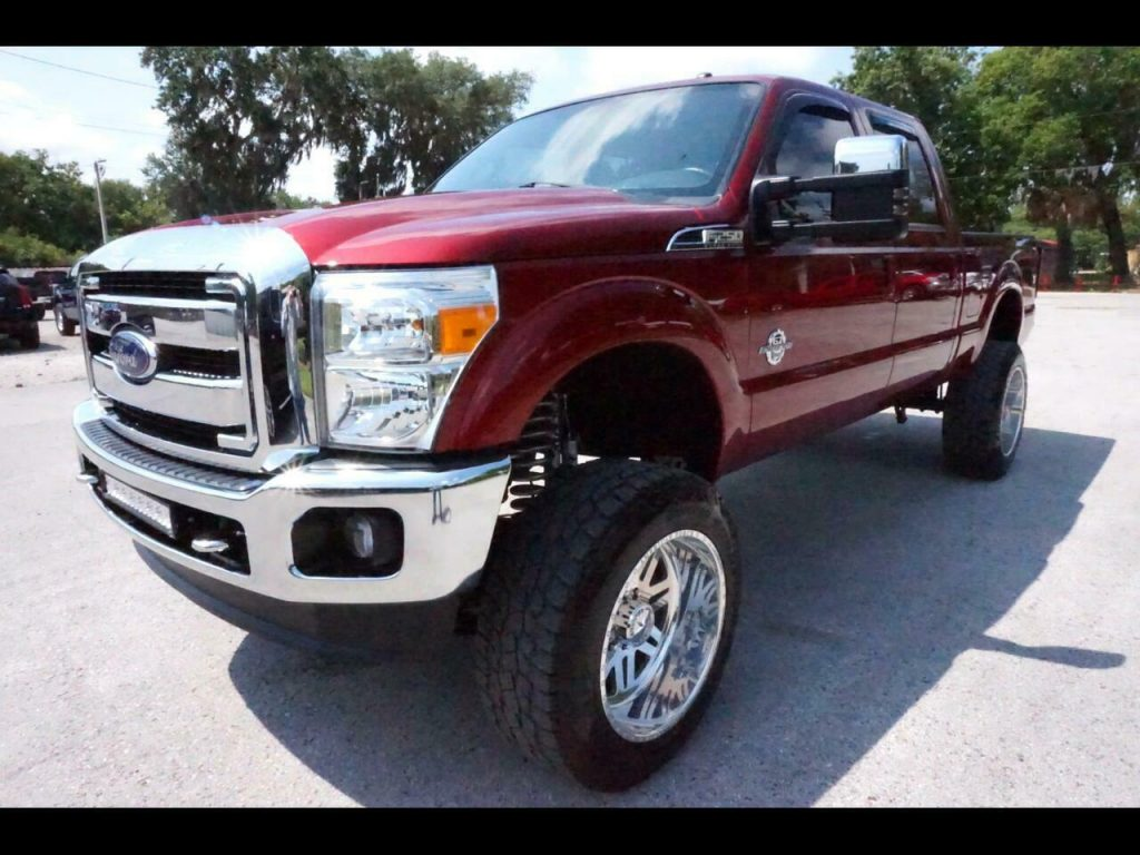 nice and clean 2016 Ford F 250 Lariat monster