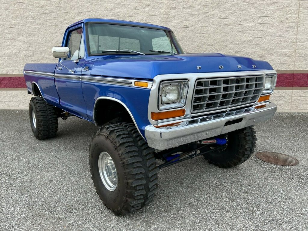 one of a kind 1978 Ford F 150 Ranger XLT 4×4 monster