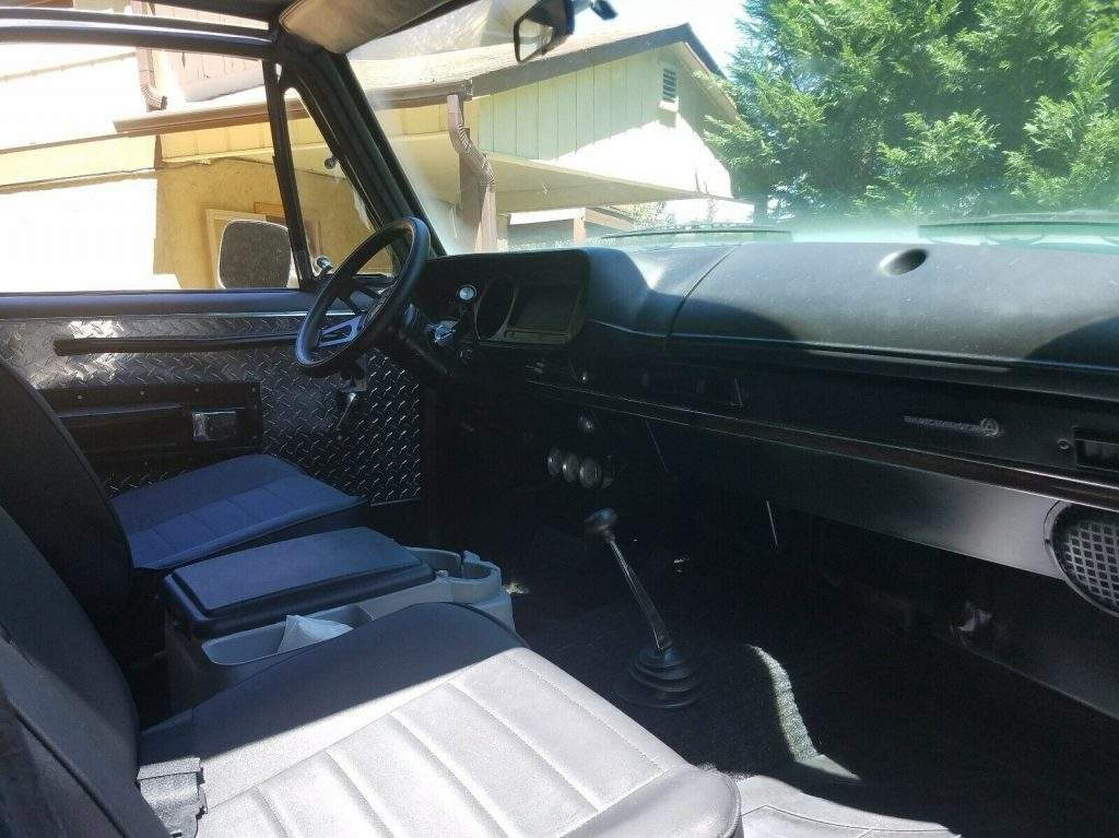 rare 1978 Dodge Ramcharger 4×4 monster