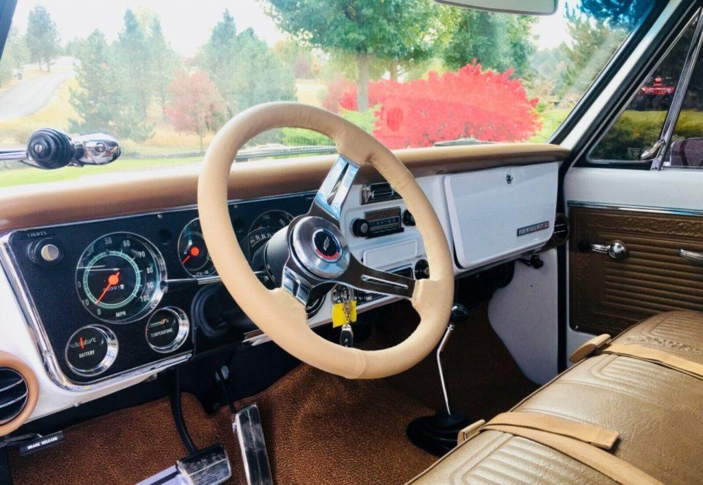 restomod 1969 Chevrolet CST/20 monster