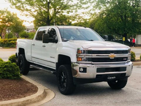 upgraded 2015 Chevrolet Silverado 2500 LTZ monster for sale