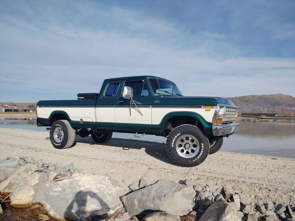 very nice 1978 Ford F 150 monster