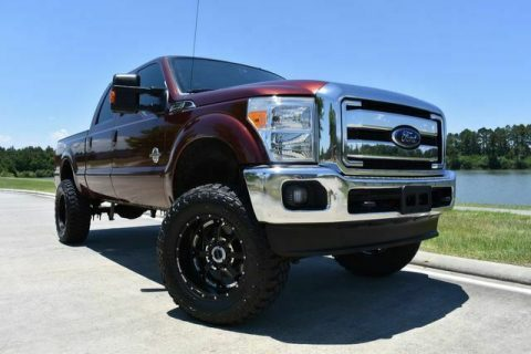 well equipped 2015 Ford F 250 Lariat monster for sale