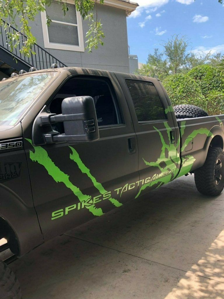 low miles 2012 Ford F 350 Baja Edition monster