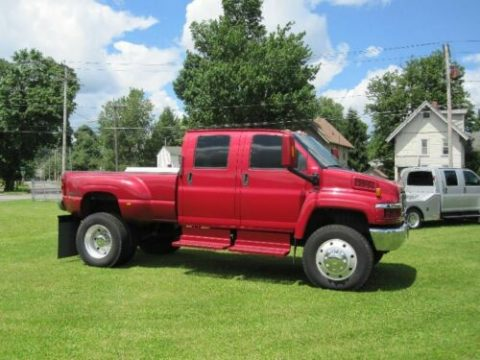 nice and clean 2005 GMC C5500 monster for sale