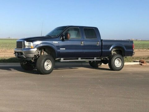 some imperfections 2003 Ford F 250 Super DUTY monster for sale