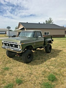 very solid 1976 Ford F 100 Ranger monster for sale