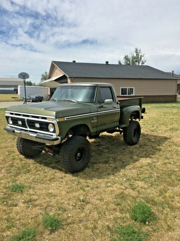 very solid 1976 Ford F 100 Ranger monster